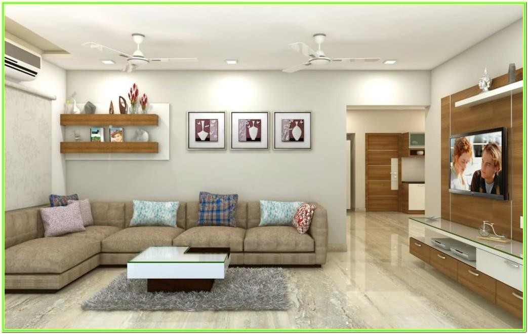 Living Room House Painting Images Inside