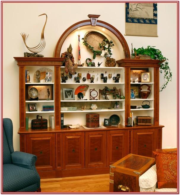 Living Room Hutch Display Ideas
