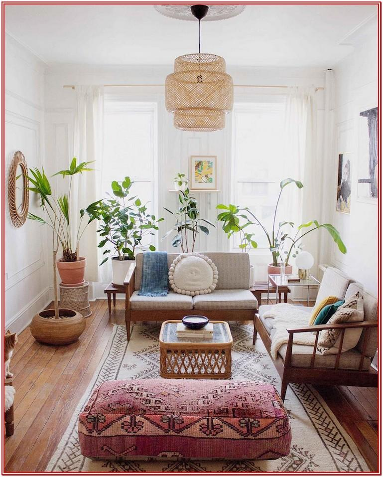 Living Room Idea Boards Boho Mid Century