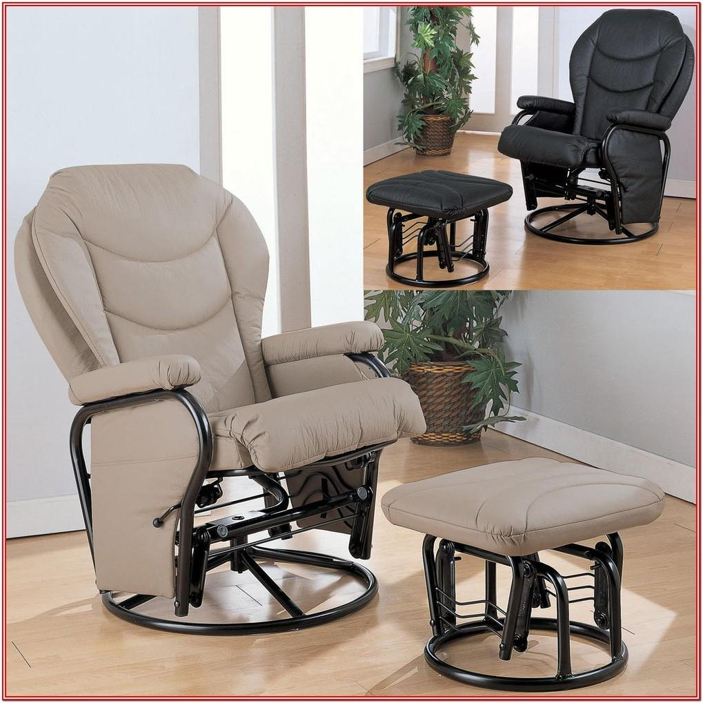 Living Room Idea With Glider Recliner