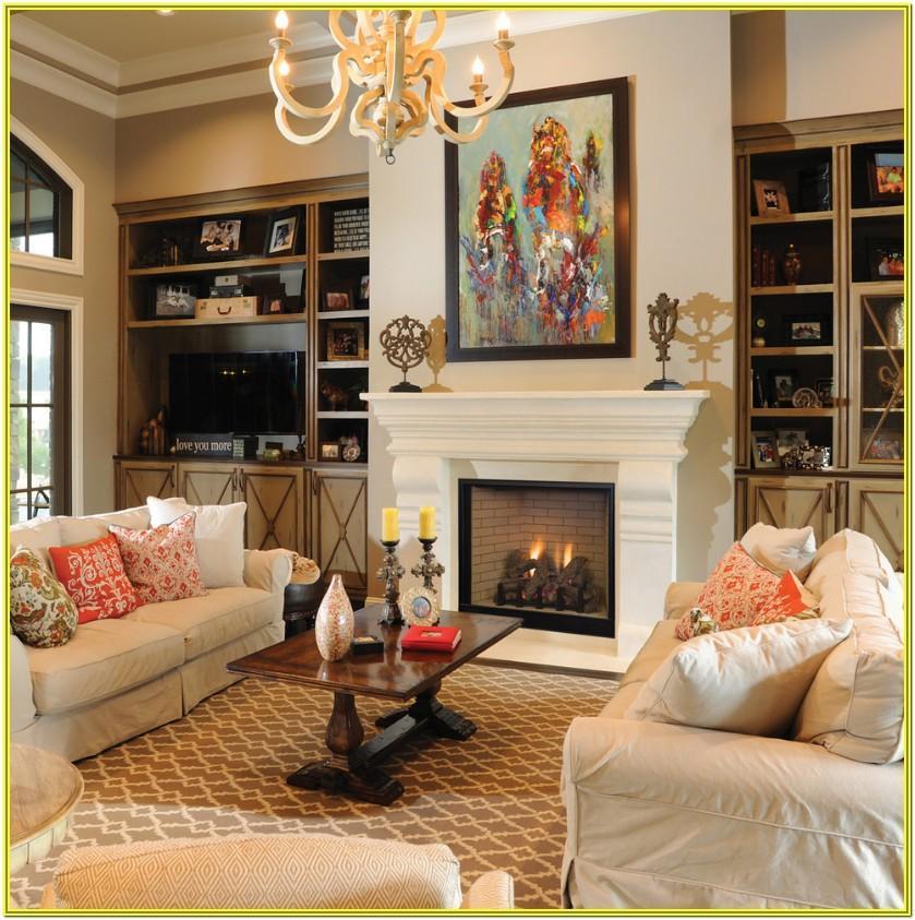 Living Room Ideas Around A Fireplace