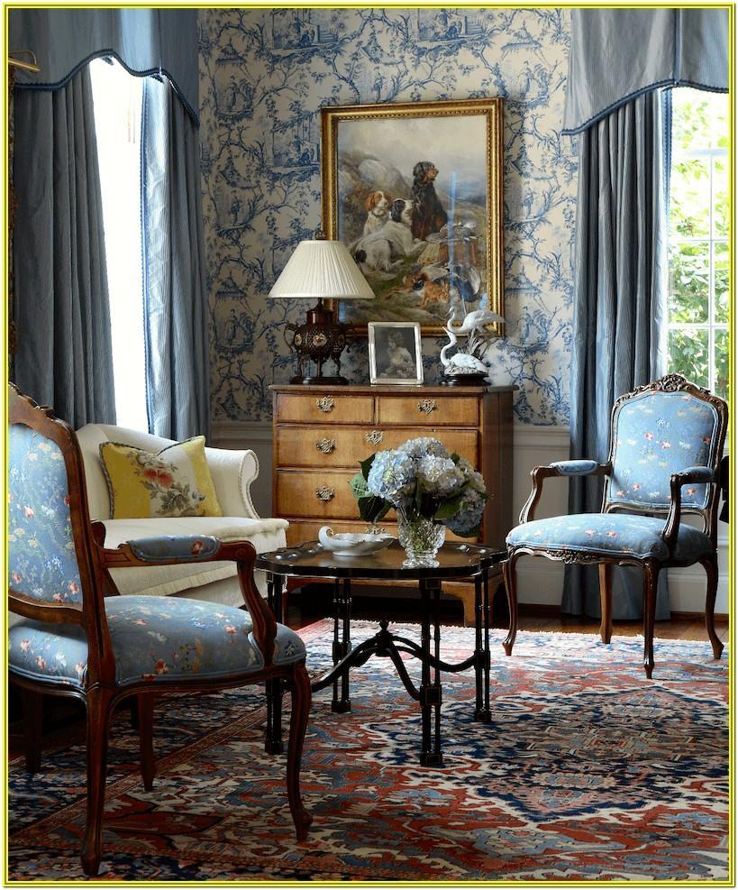 Living Room Ideas Blue Swirl Rug