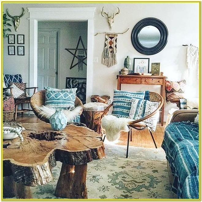 Living Room Ideas Boho Budget