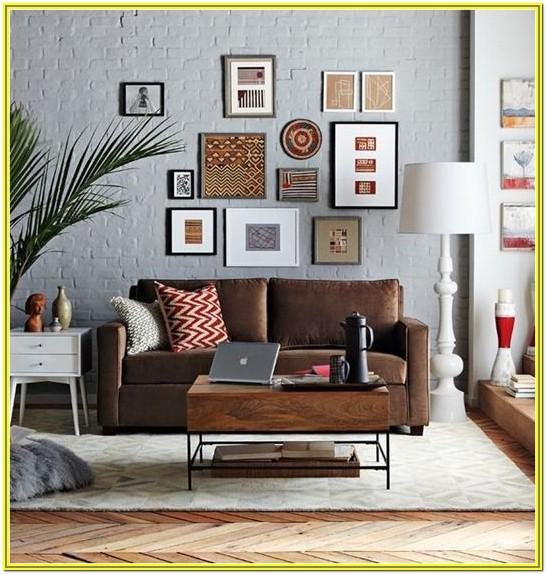Living Room Ideas Brown Sofa Color Walls