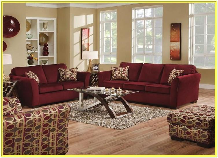Living Room Ideas Burgundy Furniture
