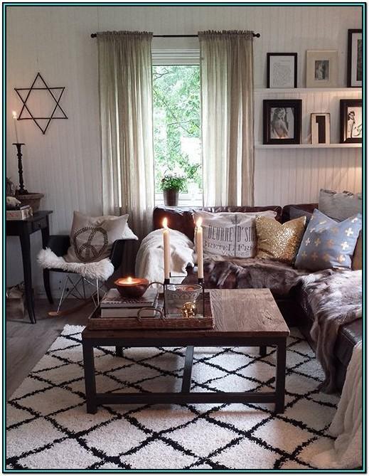 Living Room Ideas Dark Brown Sofa