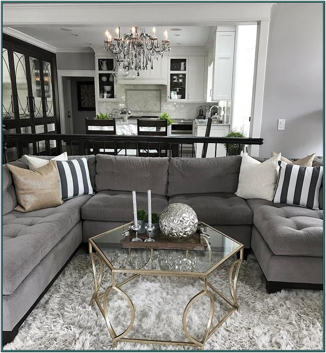 Living Room Ideas Dark Grey Couch