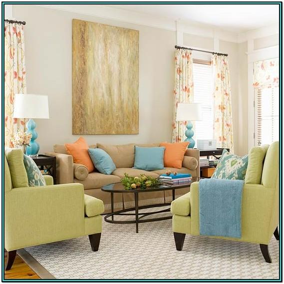 Living Room Ideas For Yellow Blue Green