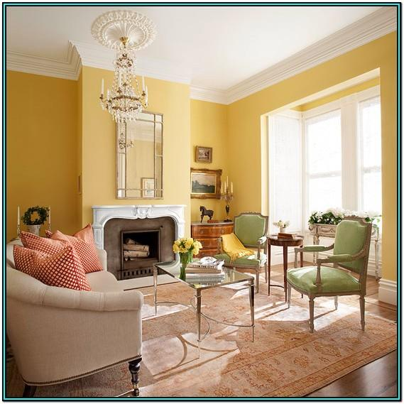 Living Room Ideas For Yellow Walls
