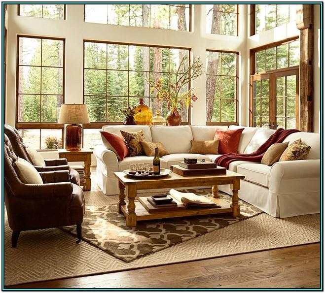 Living Room Ideas From Pottery Barn