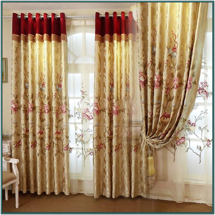 Living Room Ideas Gold Curtains