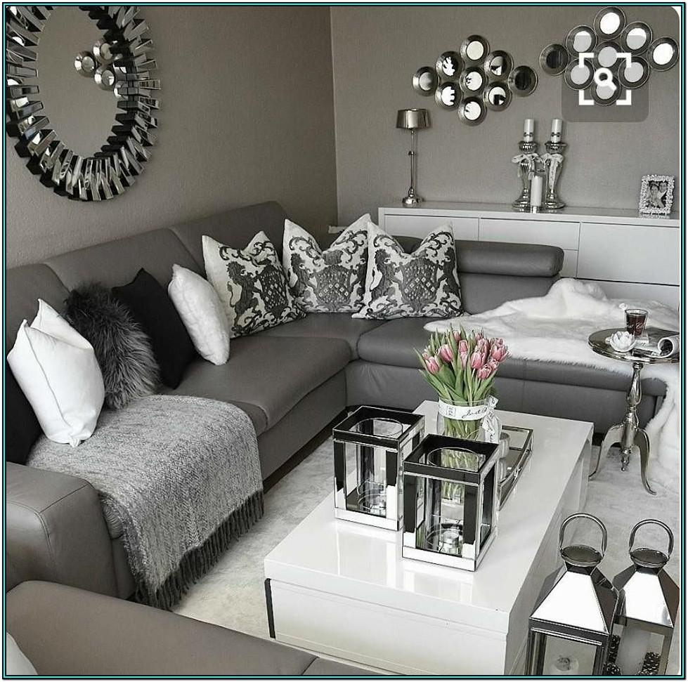Living Room Ideas Gray Plum Black