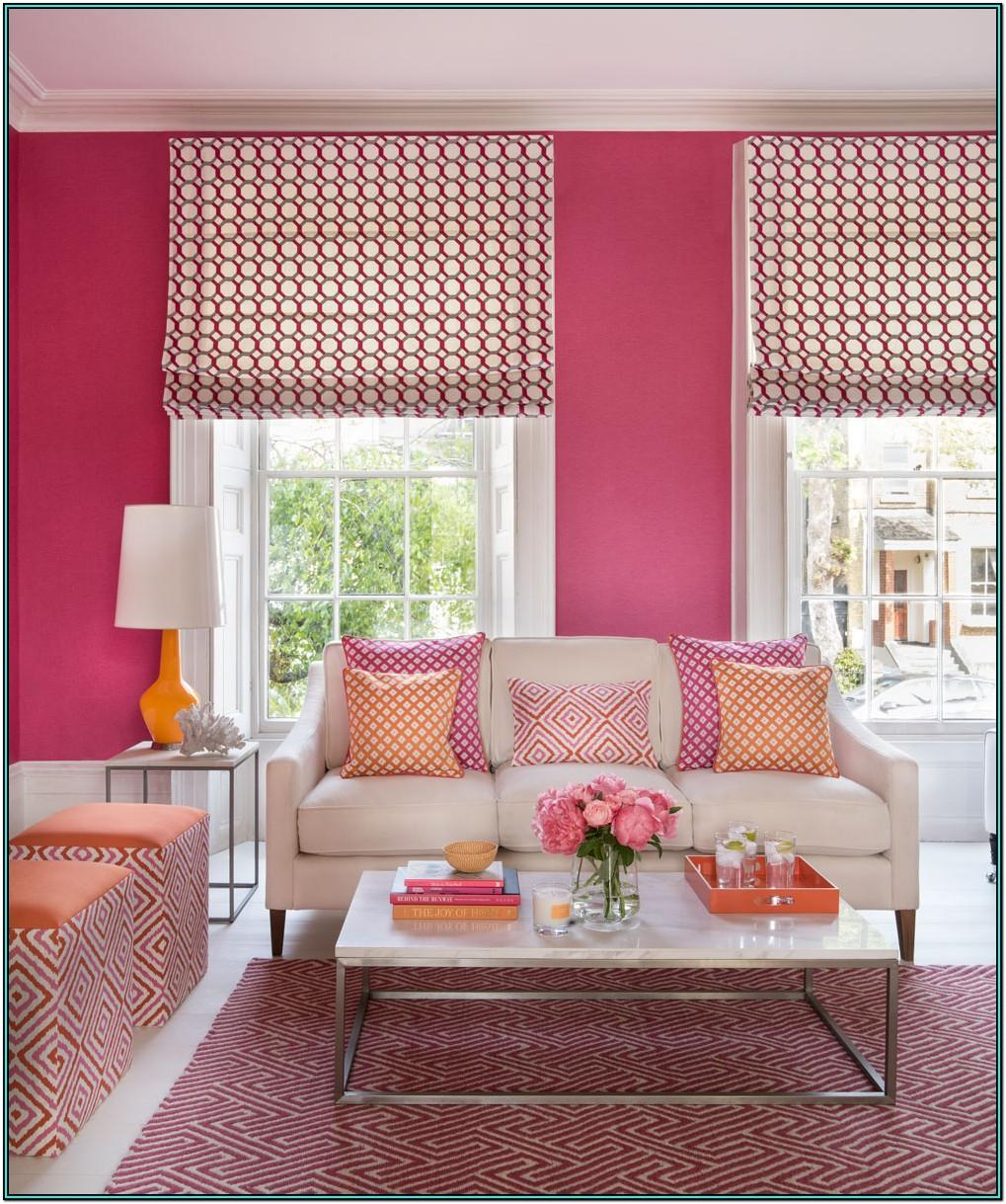 Living Room Ideas Green And Pink