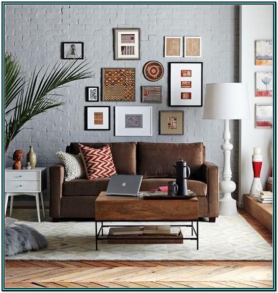 Living Room Ideas Grey Sofa Brown Floor