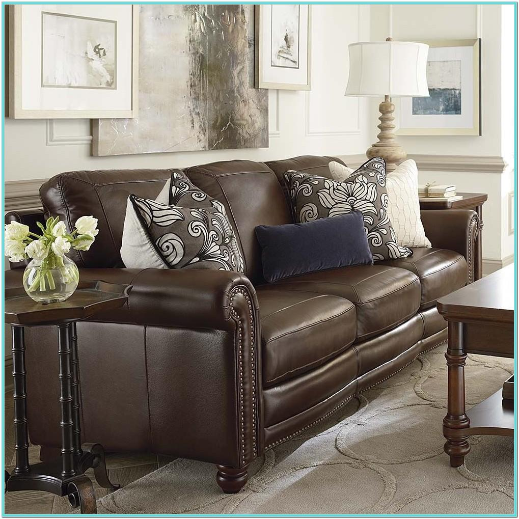 Living Room Ideas Leather Couch