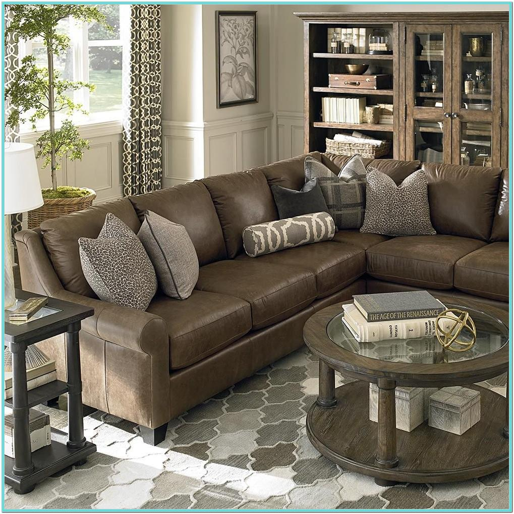 Living Room Ideas Leather Sectional