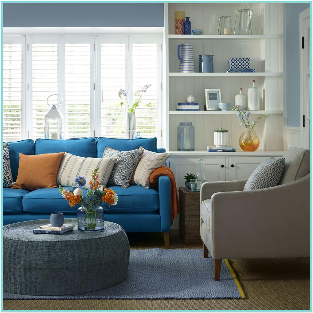 Living Room Ideas Light Blue Sofa