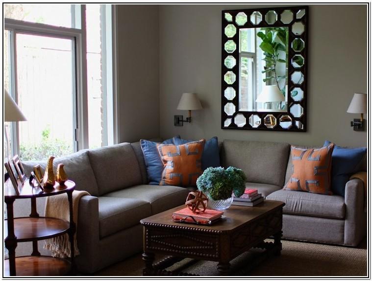Living Room Ideas Modern Blue And Orange