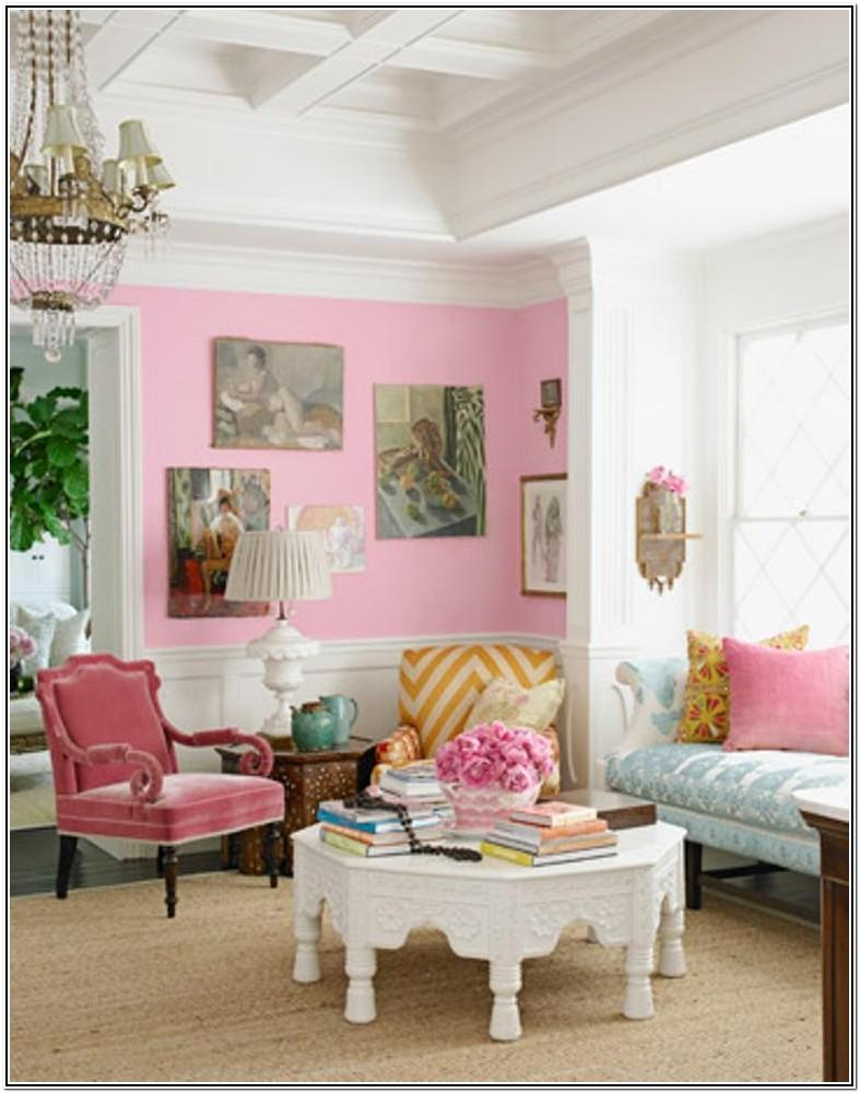 Living Room Ideas Modern Blue And Pink