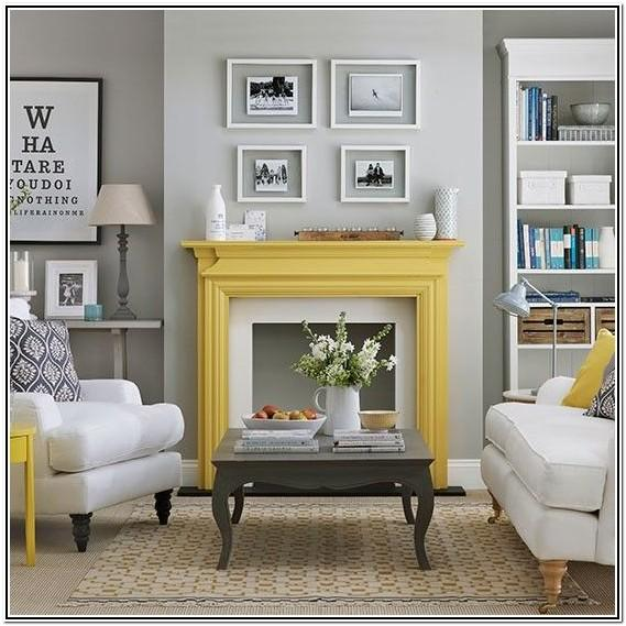 Living Room Ideas Modern Grey And Yellow