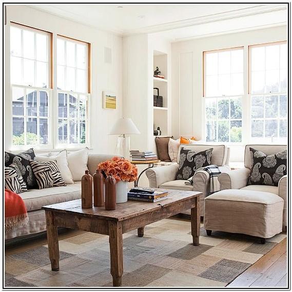 Living Room Ideas No Fireplace