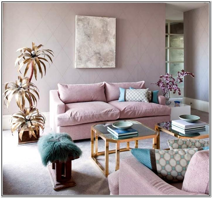 Living Room Ideas Pink And Gold