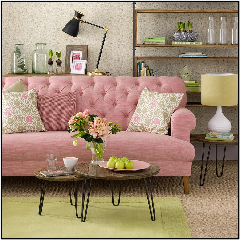 Living Room Ideas Pink And Green