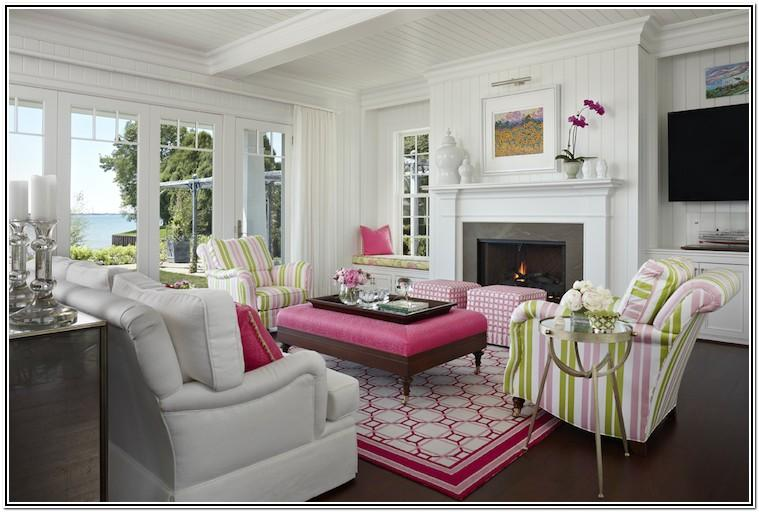 Living Room Ideas Pink And Grey