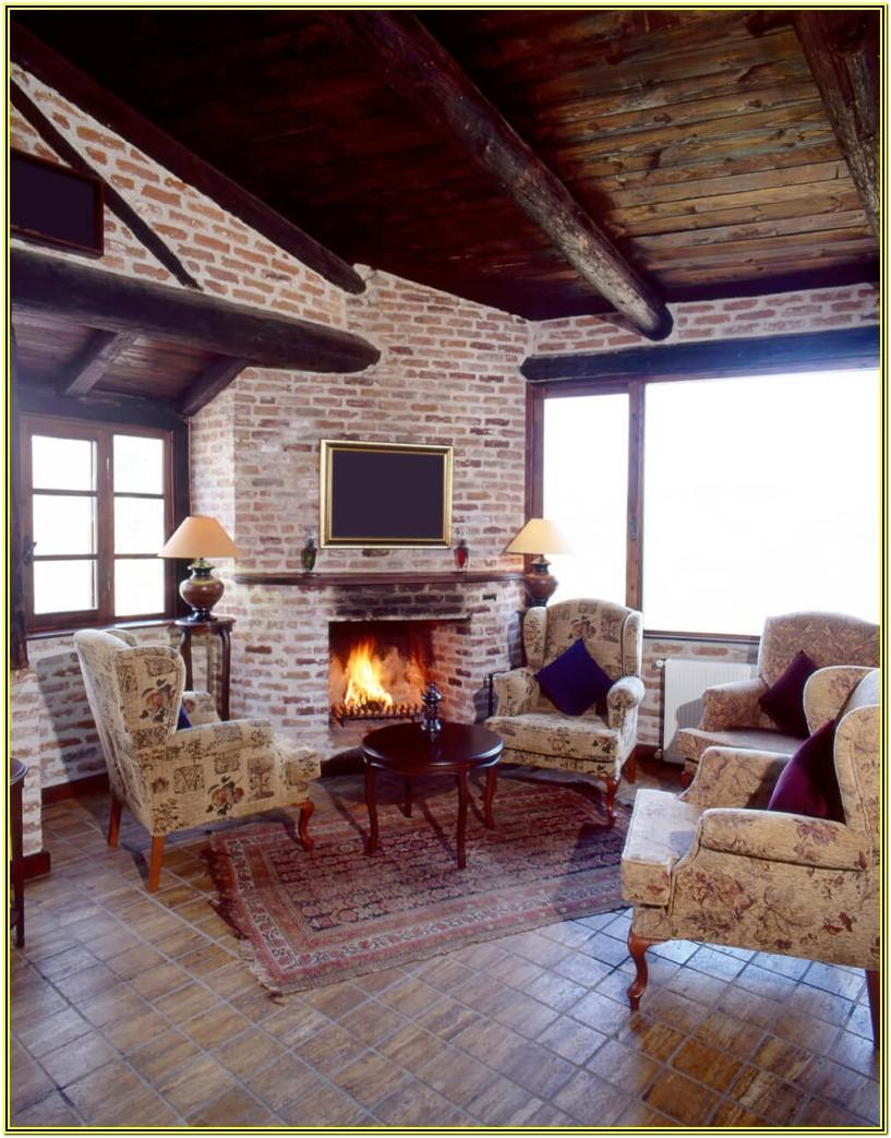 Living Room Ideas With A Brick Fireplace