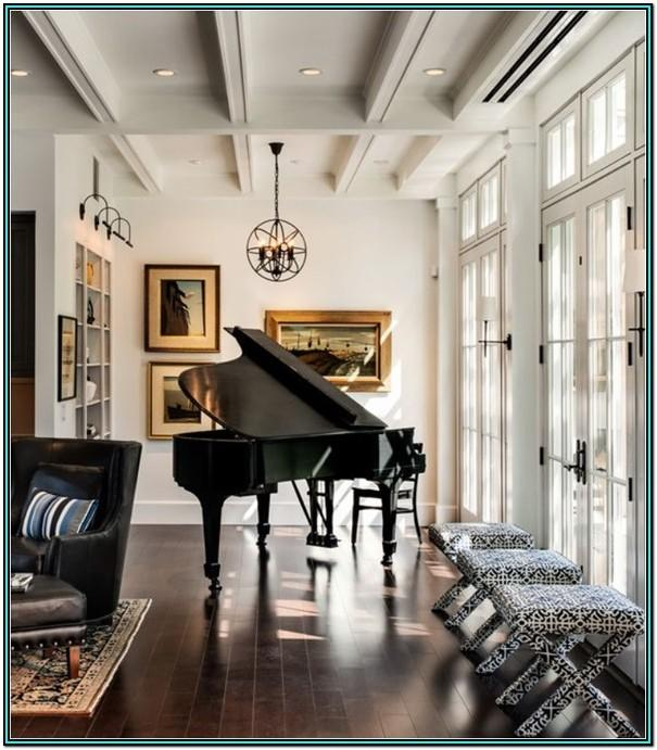 Living Room Ideas With Baby Grand Piano