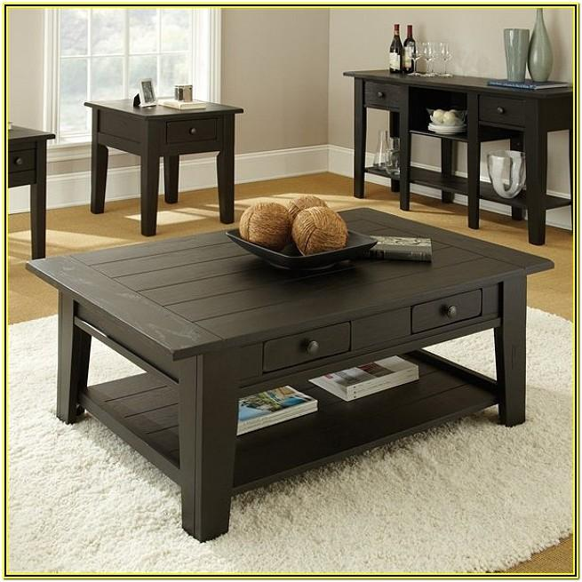 Living Room Ideas With Black Coffee Table