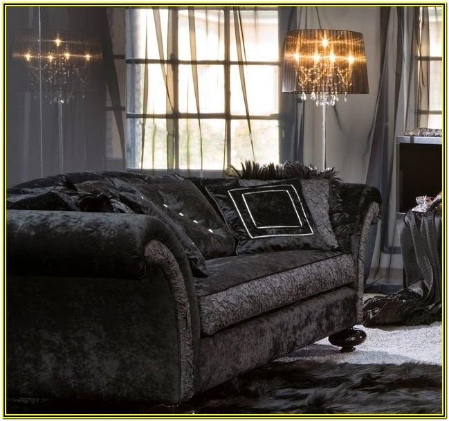 Living Room Ideas With Black Corner Sofa