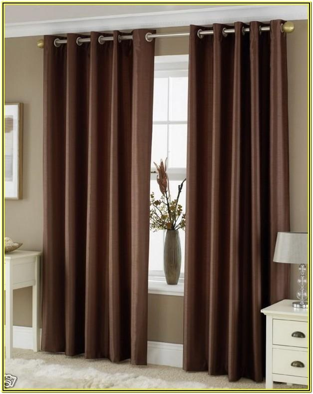 Living Room Ideas With Brown Curtains
