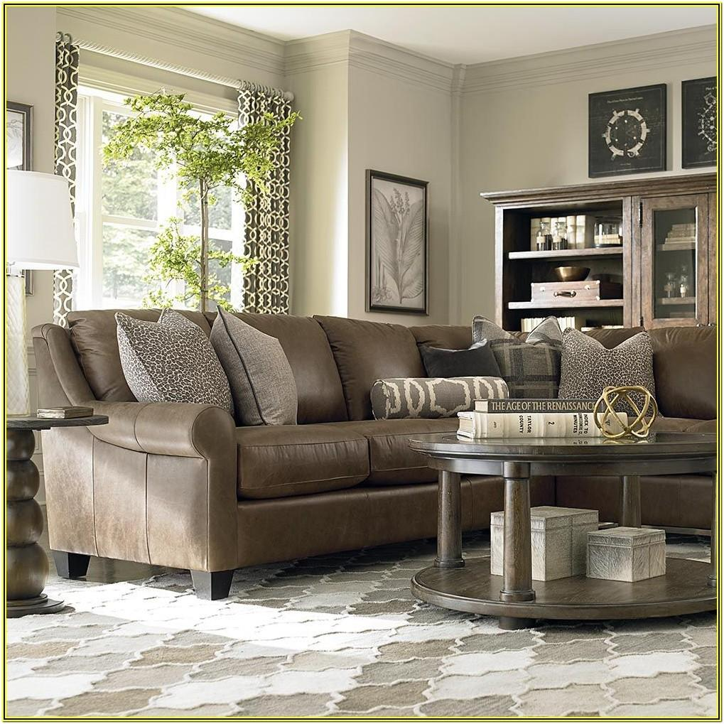 Living Room Ideas With Brown Leather Sectional