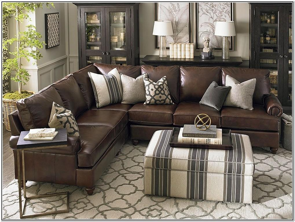 Living Room Ideas With Brown Sectional Couch