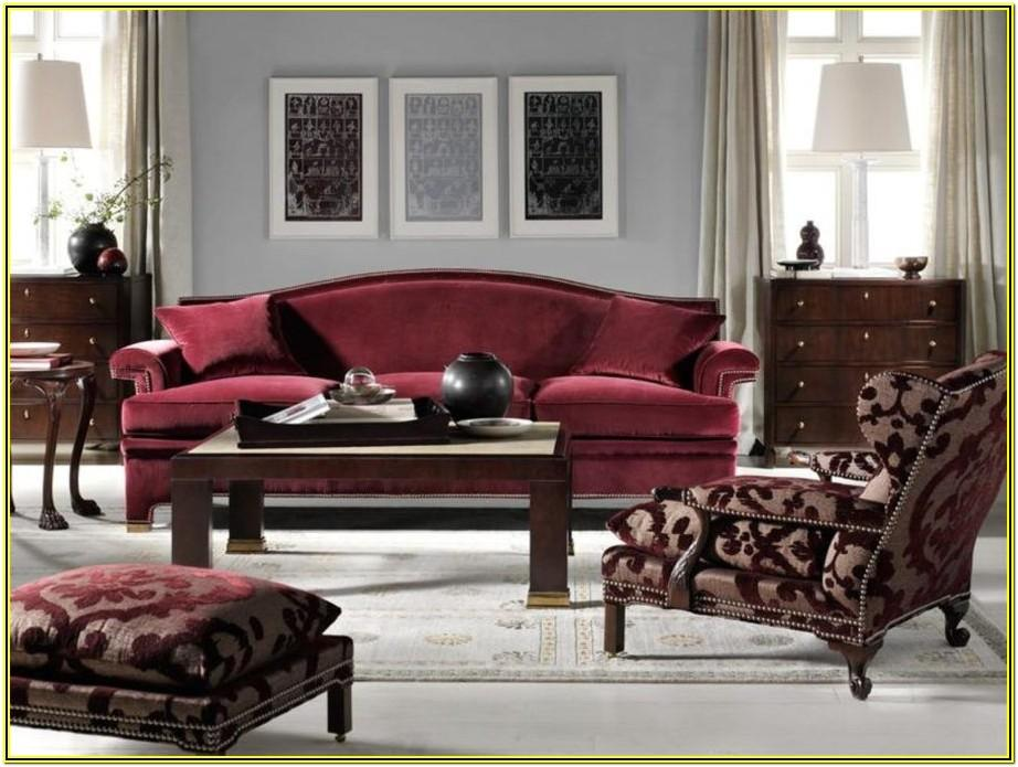 Living Room Ideas With Burgundy Furniture