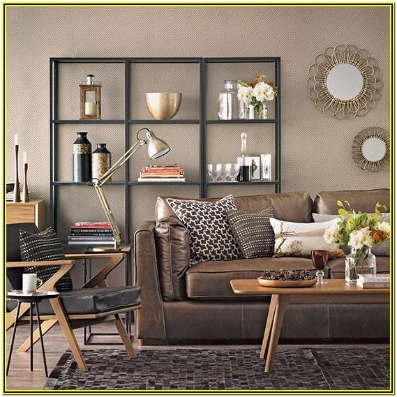Living Room Ideas With Chocolate Brown Sofas