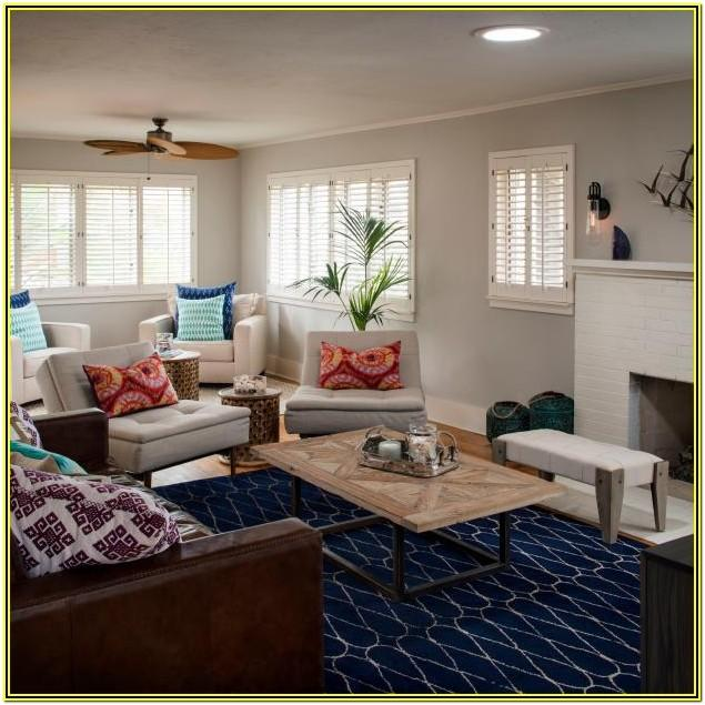 Living Room Ideas With Dark Blue Carpet