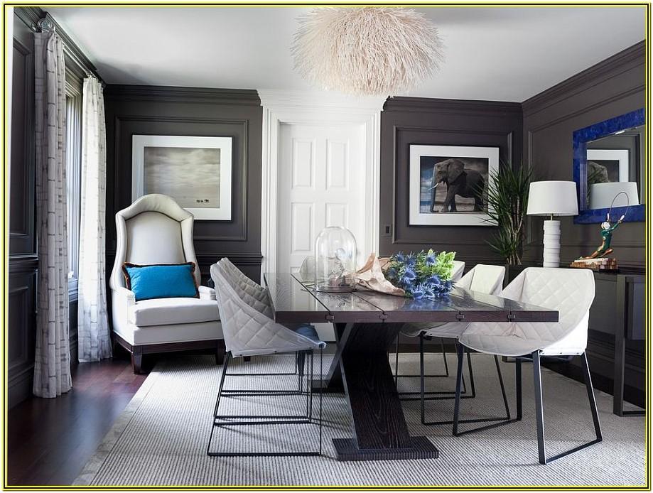 Living Room Ideas With Dark Grey Walls