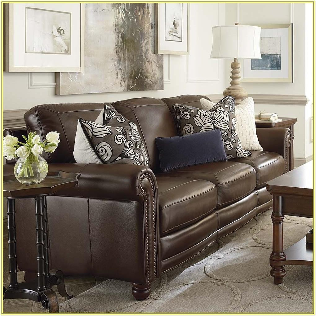 Living Room Ideas With Dark Leather Couches