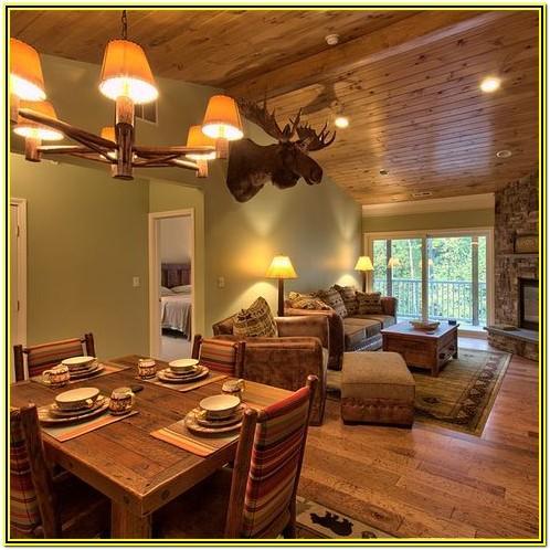 Living Room Ideas With Dark Pine Ceilings