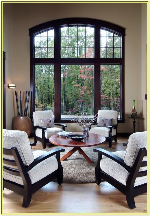 Living Room Ideas With Dark Wood Trim