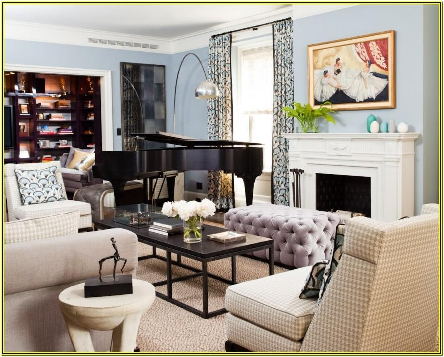 Living Room Ideas With Grand Piano