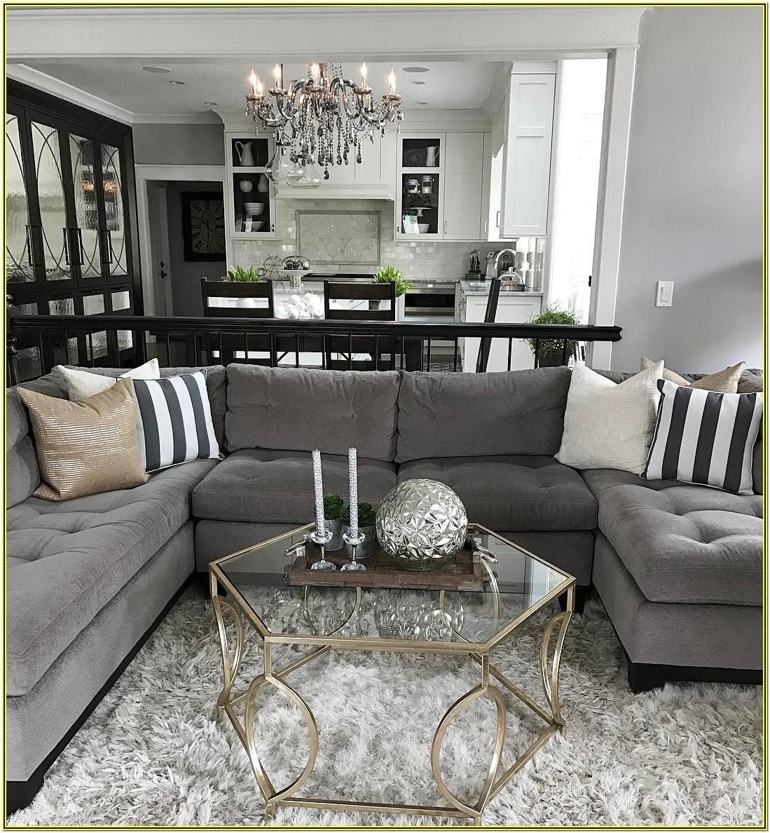 Living Room Ideas With Gray Sofa