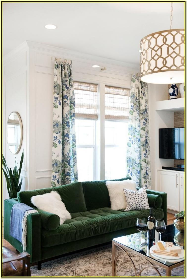 Living Room Ideas With Green Chairs