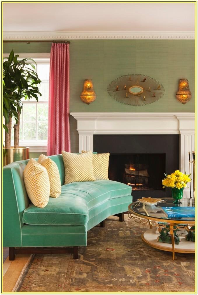 Living Room Ideas With Green Couches