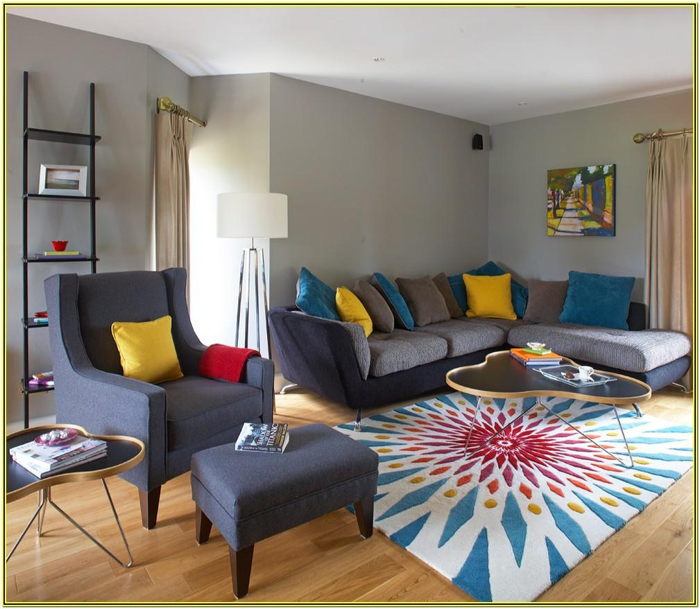 Living Room Ideas With Grey And Teal