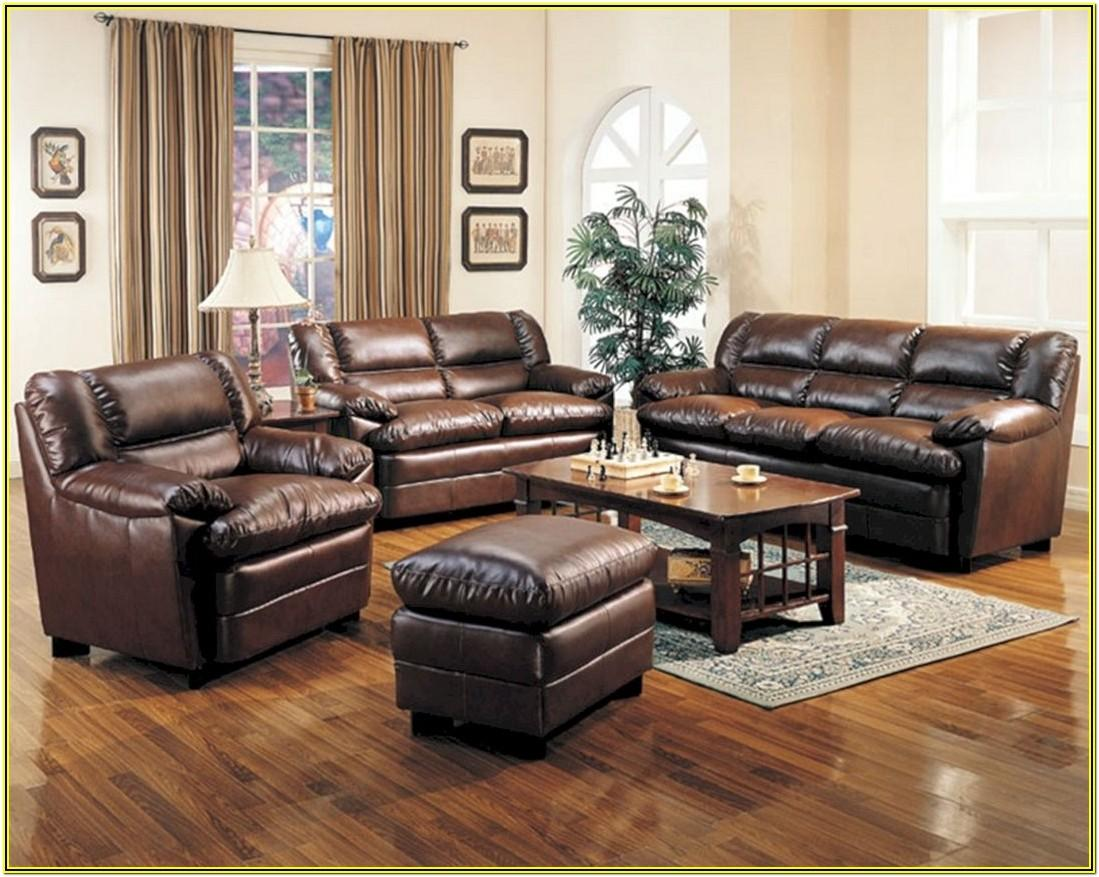 Living Room Ideas With Leather Couches