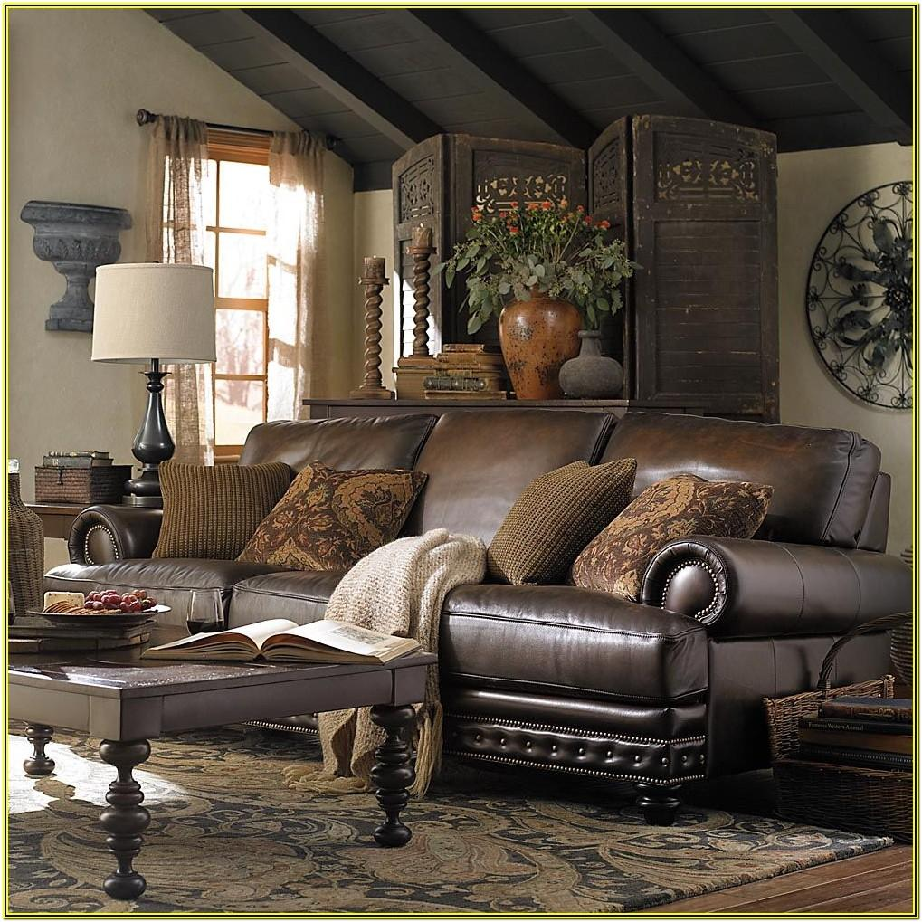 Living Room Ideas With Leather Sectional