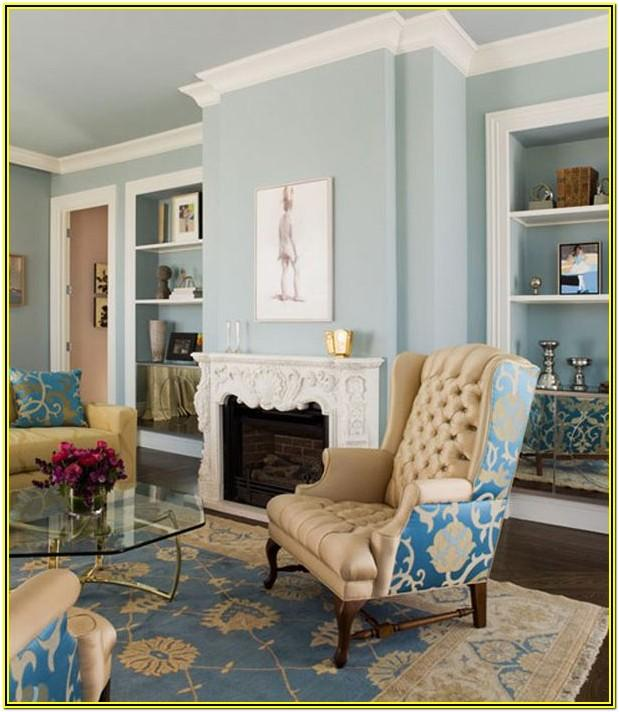 Living Room Ideas With Light Blue Walls